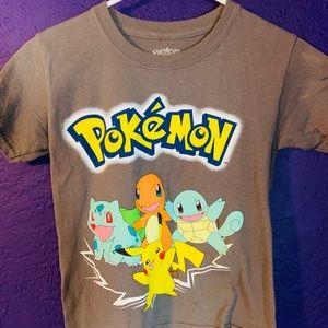 Childrens small pokemon shirt